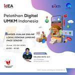Pembicara Pelatihan Digital Marketing Nasional Kementrian Indonesia