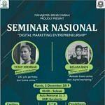 Pembicara Seminar Nasional Bisnis Online di Solo