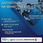 Seminar Whatsapp Marketing di Solo