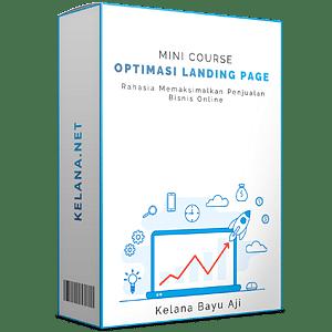 Course Optimasi Landing Page Bisnis Online Gratis