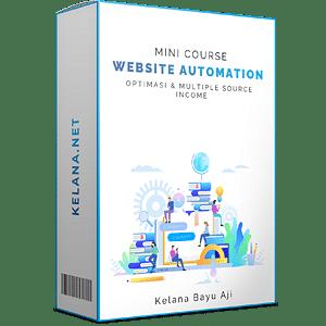 Course Optimasi Webiste Bisnis Online Digital Marketing