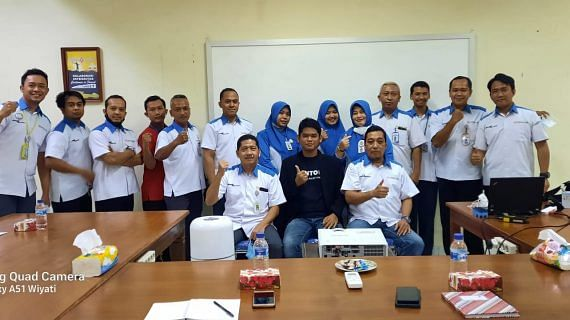 Training Strategi Digital Marketing Tim management Assalam Hypermarket